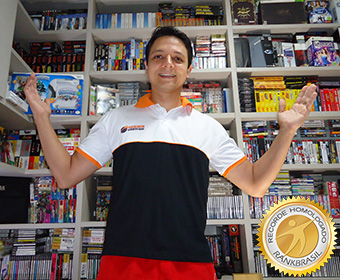 Maior coleção de jogos de videogame completos