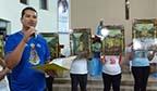 Primeiro brasileiro a pintar uma Via-Sacra Africana
