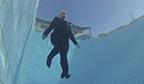 Maior tempo flutuando na água no feminino