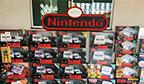 Maior coleção de consoles de videogames Nintendo