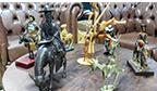Maior coleção de miniaturas de burros