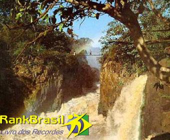 Maior cachoeira submersa