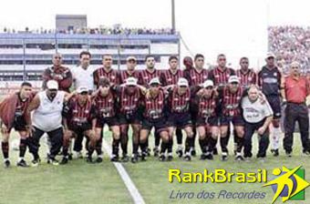 1° Time de futebol brasileiro campeão do século XXI