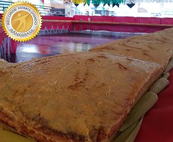 Maior bolo de milho