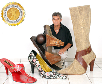 Maior sapato feminino