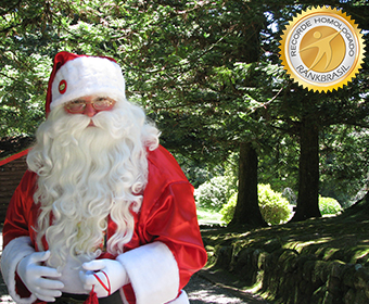 Papai Noel com maior tempo de atividade