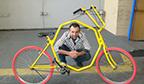 Maior coleção de bicicletas artesanais