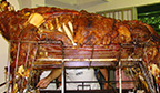 Maior boi recheado assado em forno