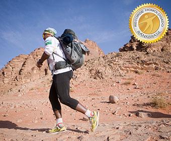 Ultramaratona mais rápida pelos quatro desertos extremos
