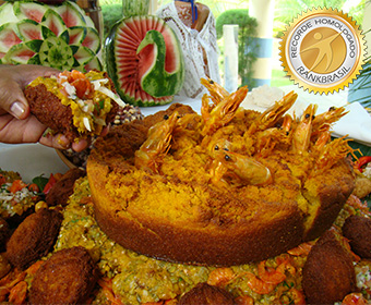 Maior acarajé do Brasil