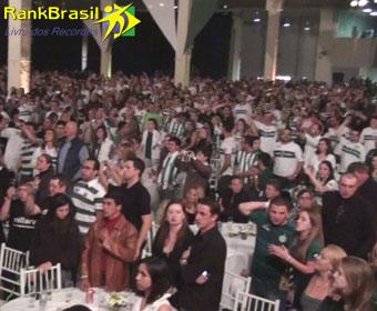 Maior jantar comemorativo de um clube de futebol