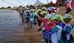 Maior campeonato de pesca esportiva infanto-juvenil