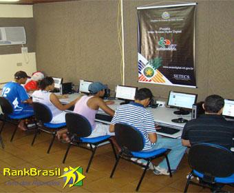 Estado com maior inclusão digital do Brasil