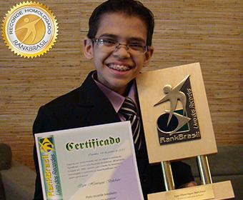 Mais jovem radialista do Brasil