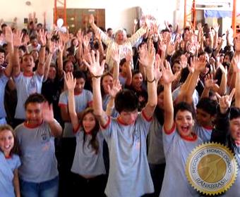 Maior apelo estudantil do Brasil pela paz
