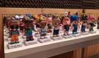 Maior coleção de personagens e personalidades em papercraft