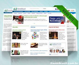 Novo site do RankBrasil traz inovações visuais e tecnológicas