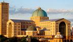 Santuário de Aparecida recebeu mais de 11 milhões de visitantes em 2012