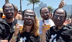 Carnaval 2013: máscara de Joaquim Barbosa é a campeã de vendas