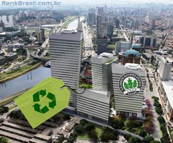 Brasil é o quarto país do mundo com mais prédios verdes