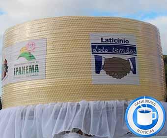 Ipanema promete quebrar mais uma vez recorde com queijo gigante