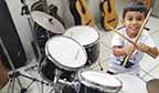 Orquestra de bateria infantil pode bater recorde em Joinville (SC)