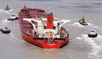 Um dos maiores navios do mundo pode afundar no Maranhão