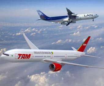 Fusão entre TAM e LAN cria uma das maiores empresas aéreas do mundo