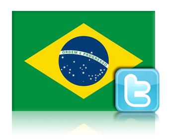 Brasil é o segundo maior país em número de usuários do Twitter