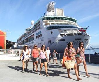 Rio de Janeiro teve recorde de turistas marítimos no Carnaval 2012