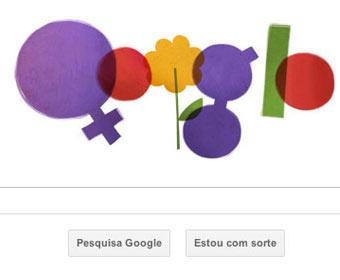 Google celebra Dia Internacional da Mulher com doodle
