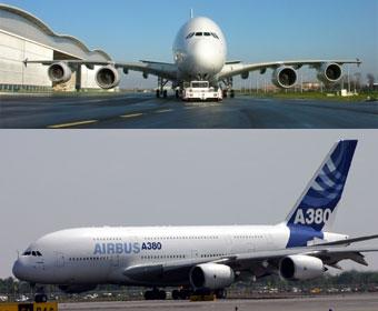 Maior avião do mundo faz 'tour' pelo Brasil