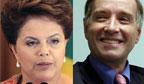 Dilma e Eike apostam em parceria entre Petrobras e OGX