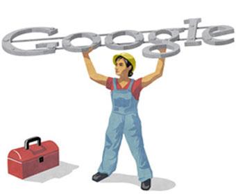 Google celebra Dia do Trabalho com arte