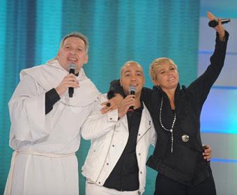 Xuxa e Belo participarão do DVD do padre Marcelo Rossi