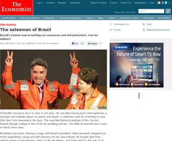 Eike Batista é 'o vendedor do Brasil', diz revista britânica