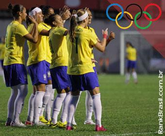 Seleção Feminina de Futebol estreia hoje nas Olimpíadas