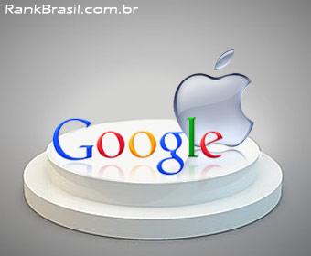 Google e Apple são as empresas mais influentes no Brasil