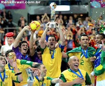 Brasil conquista a Copa do Mundo de Futsal pela sétima vez