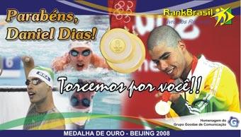 Brasileiro com menor tempo na natação da paraolimpíada