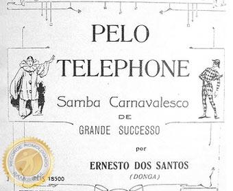 Primeiro samba gravado no Brasil