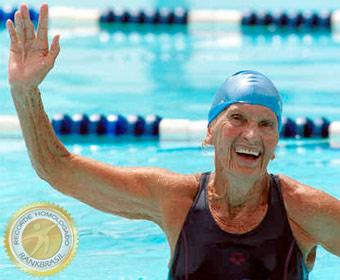 Primeira mulher sul-americana a competir em olimpíadas