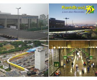 Maior terminal rodoviário do Brasil