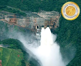 Usina hidrelétrica com barragem mais alta