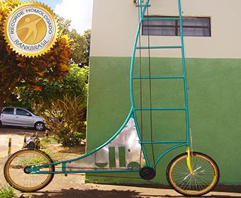 Bicicleta mais alta