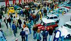 Maior número de visitas em uma exposição de carros antigos