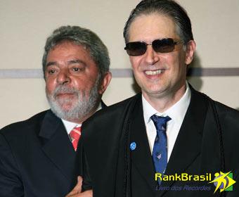 Primeiro cego a ocupar cargo na magistratura nacional