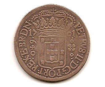 Primeira moeda oficial do Brasil