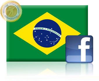 Rede social mais utilizada no Brasil