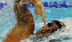 Mais rápido nadador nos 200m livre em piscina curta